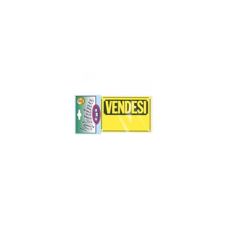 CARTELLI  PLASTICA PER ESTERNO  -VENDESI-  conf 2pz