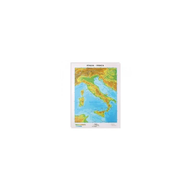 CARTE GEO -A4- Italia Fis-Pol SCUOLA -